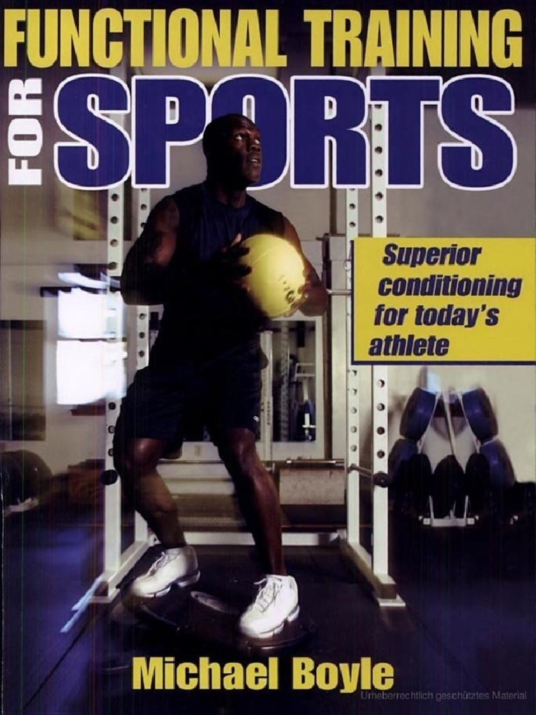 Capa do livro Functional Training for Sports