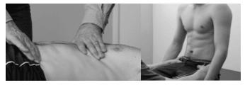 Avaliação pressurização do diafragma - supinado e sentado