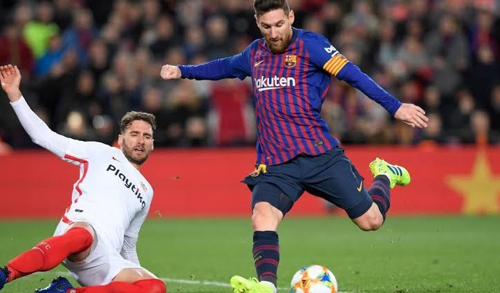 Padrão contralateral de Lionel Messi.
