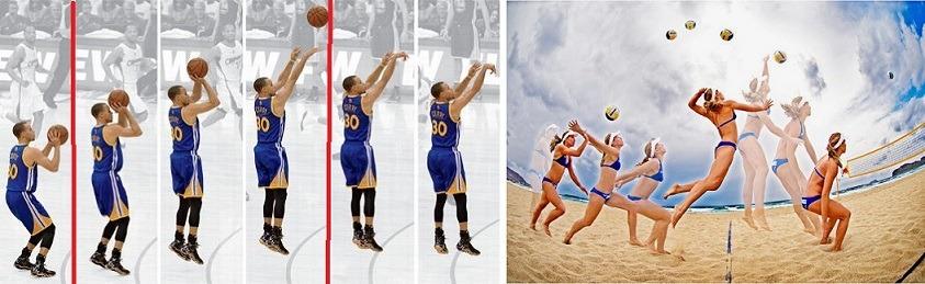 Pliométricos: Salto do arremesso do basquete x salto do saque do vôlei.