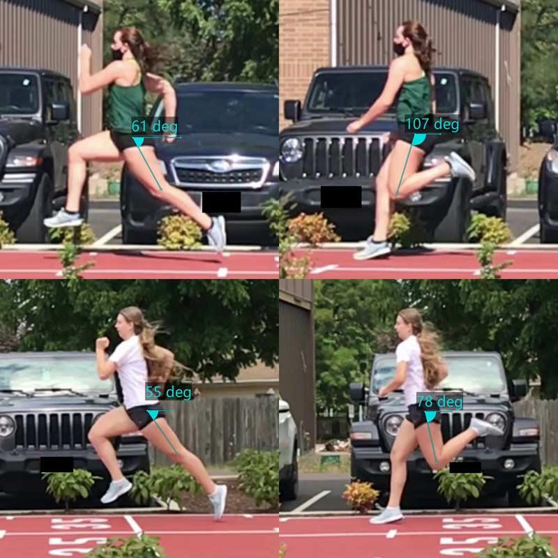 Prevenção de lesões nos isquiotibiais: Método kick-back para determinar a mecânica do sprint.